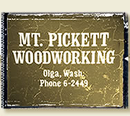 Mt. Pickett Woodworking home page